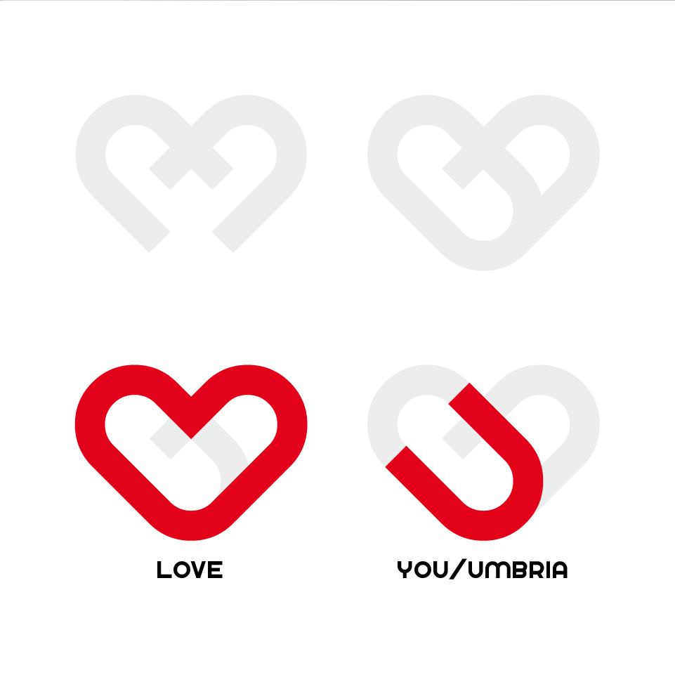 Umbria Pride costruzione logo 2 - stilographico