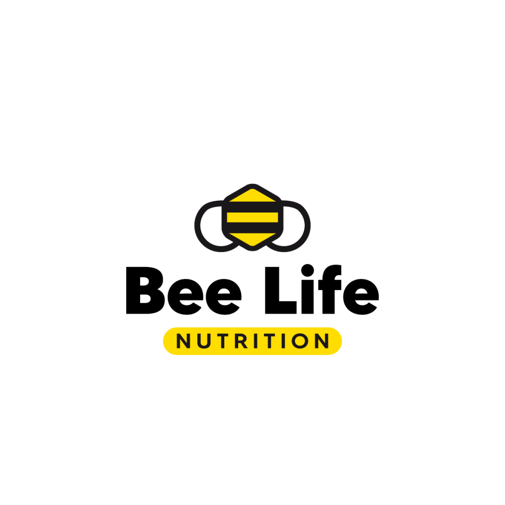 logo bee life nutrition - portfolio stilographico