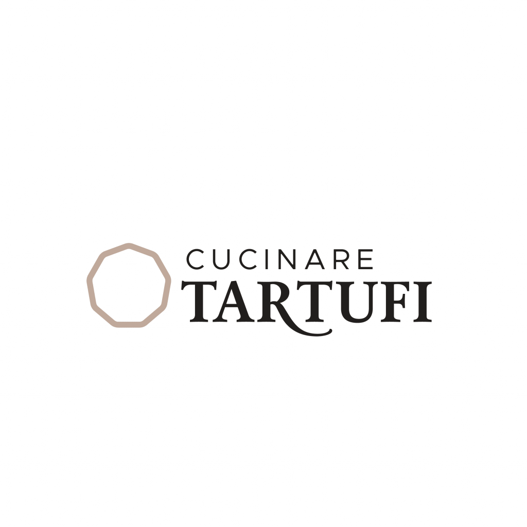 Cucinare tartufi logo - stilographico