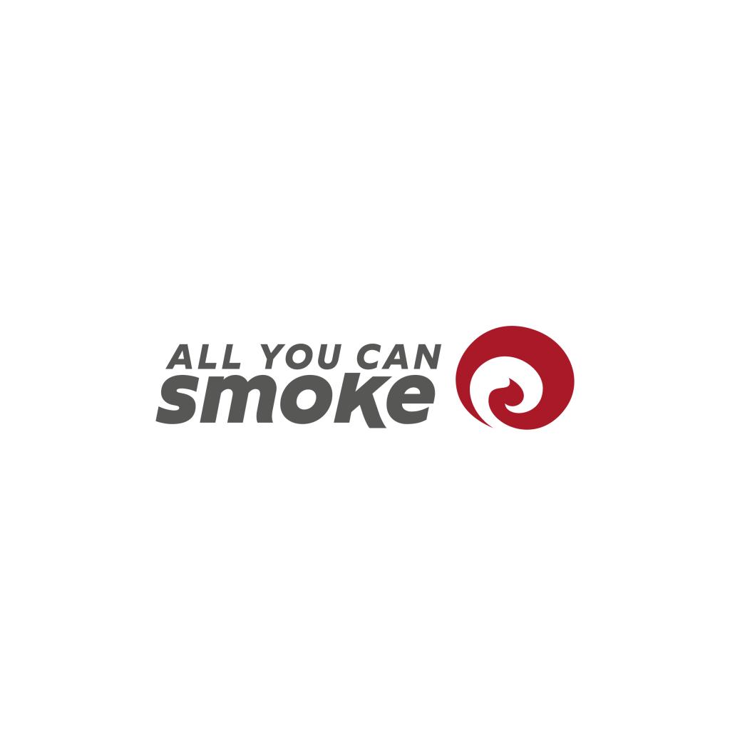 All you can smoke logo - stilographico