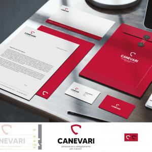 Canevari brand identity Stilographico