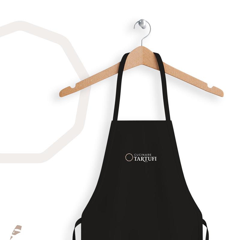 Cucinare tartufi grembiule - stilographico