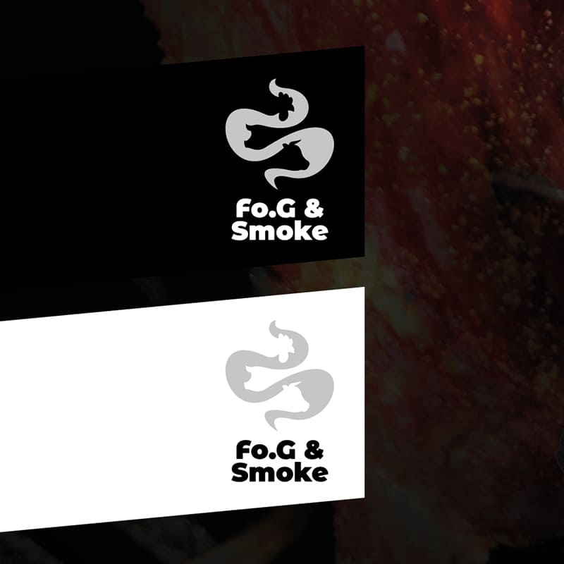 Fo.G & Smoke versioni logo - stilographico