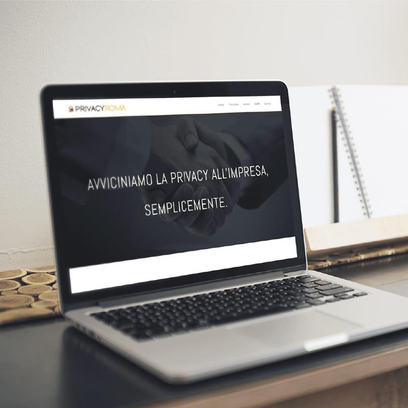 PrivacyRoma sito - stilographico