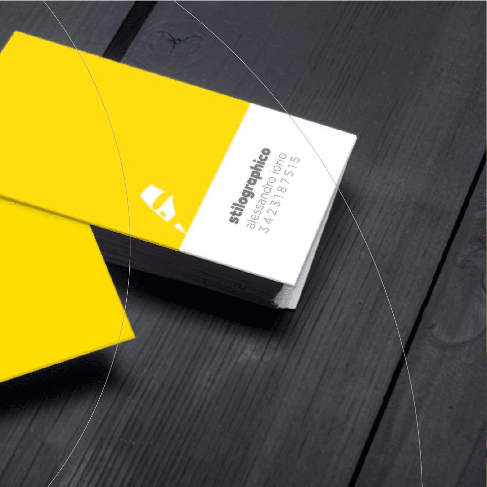 Stilographico biglietto da visita - stilographico