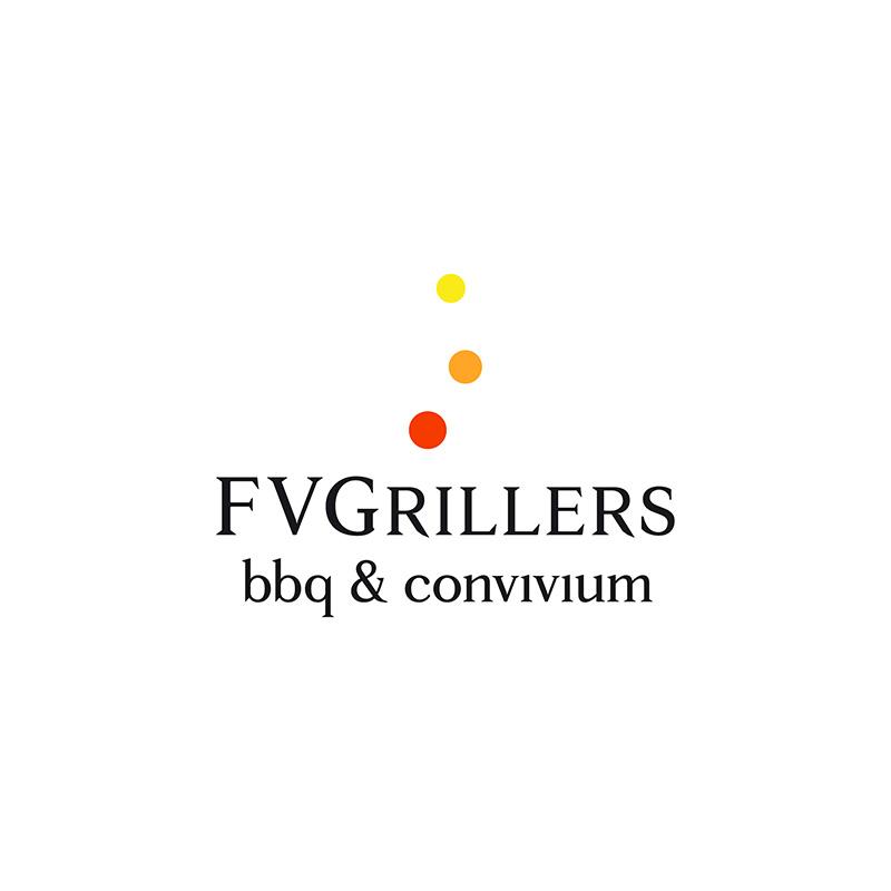 FVGrillers bbq & convivium cover - stilographico