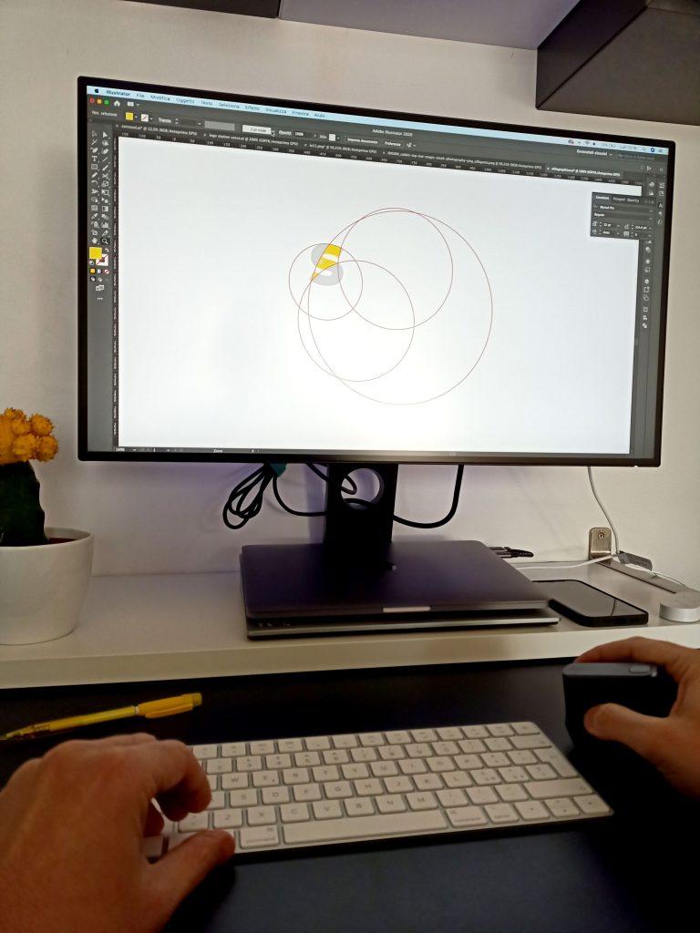 Digital process - processo creativo Stilographico
