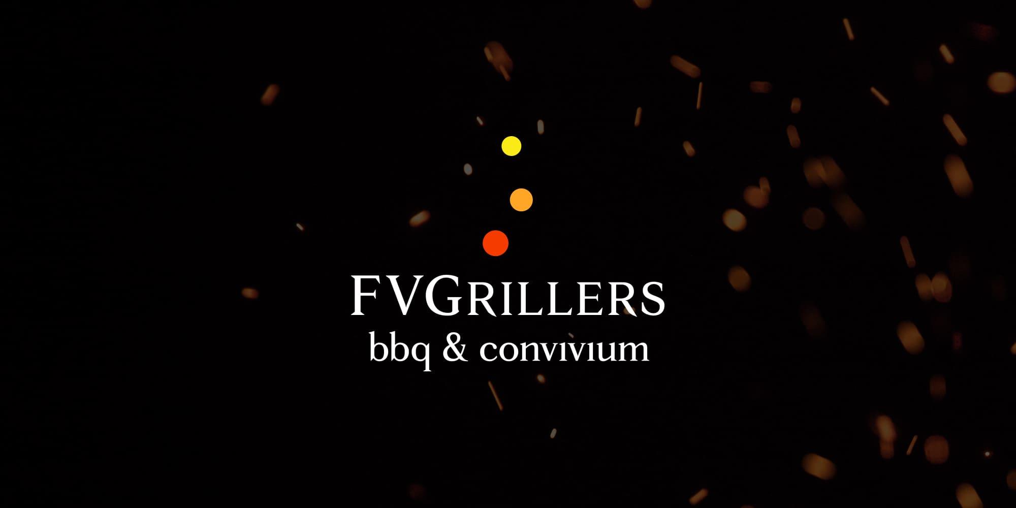 FVGrillers bbq & convivium cover scintille - stilographico