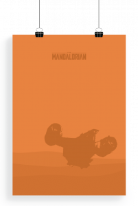 poster The Mandalorian 01
