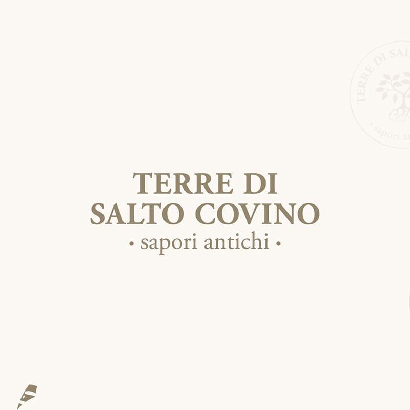 Terra di Salto Covino logotipo - stilographico