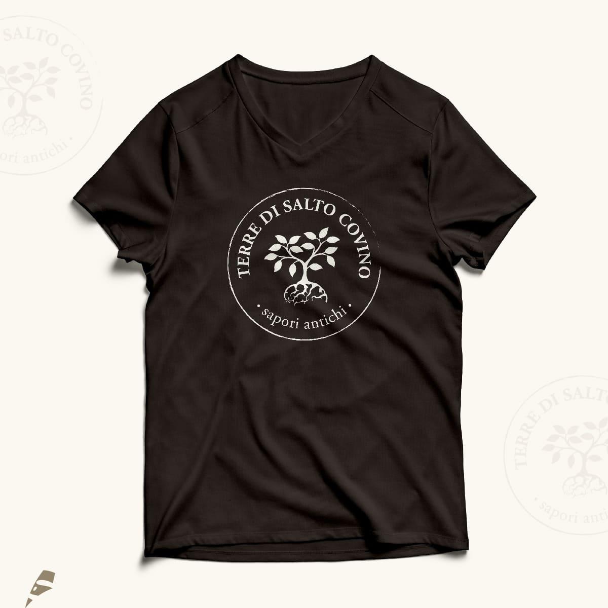 Terra di Salto Covino tshirt - stilographico