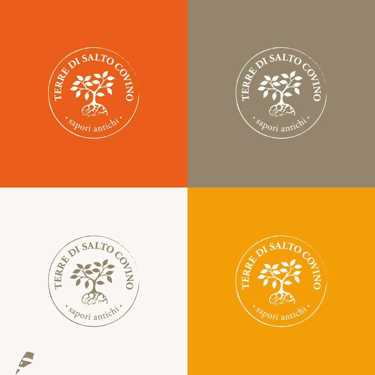 Terra di Salto Covino varianti logo - stilographico
