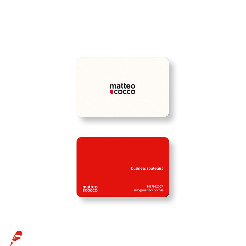 Matteo Cocco biglietto da visita - stilographico