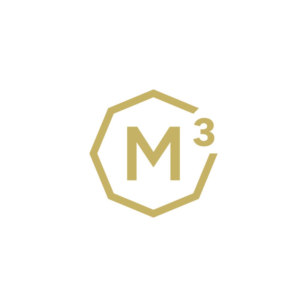M3 logo - stilographico