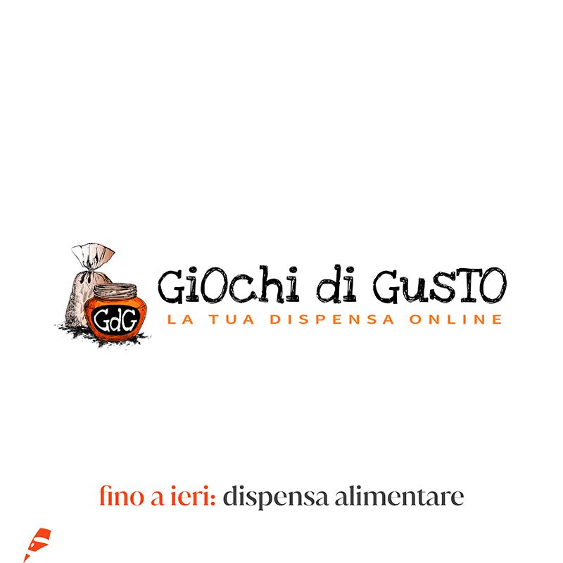 Giochi di gusto old logo - stilographico
