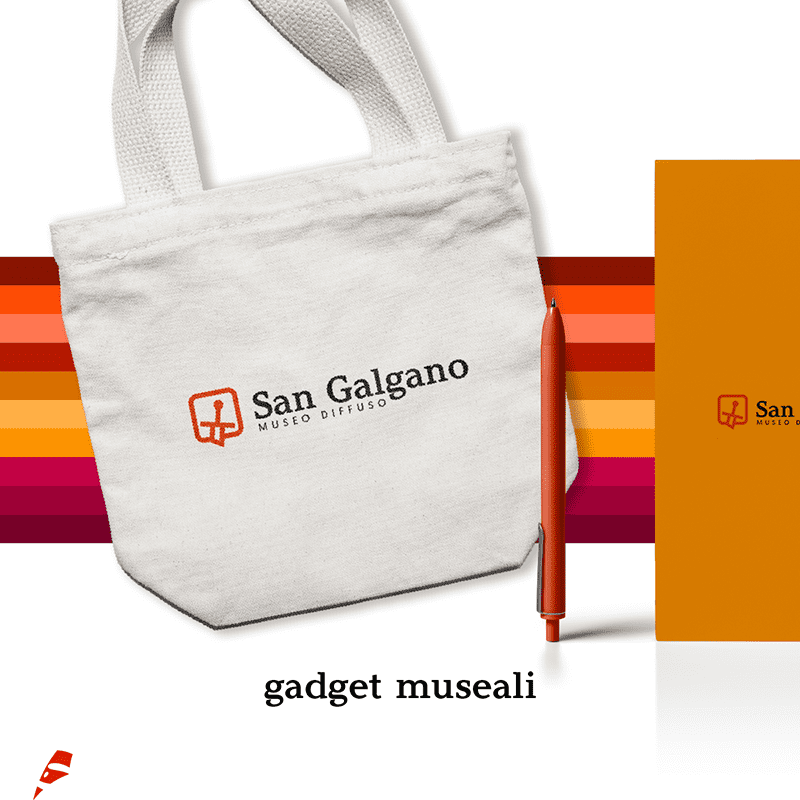 San Galgano gadget - stilographico